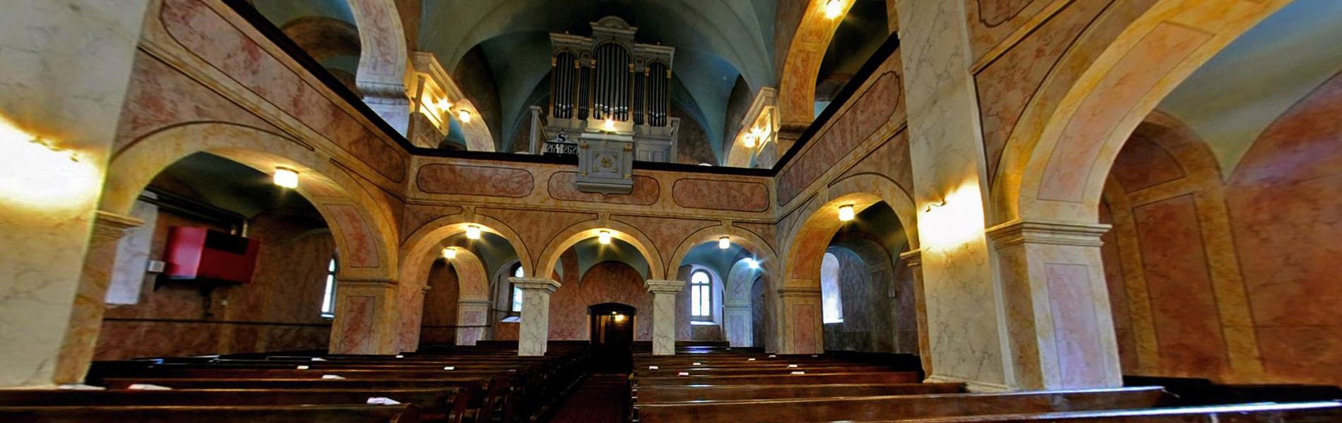 Székelyudvarhely belvárosi református templom